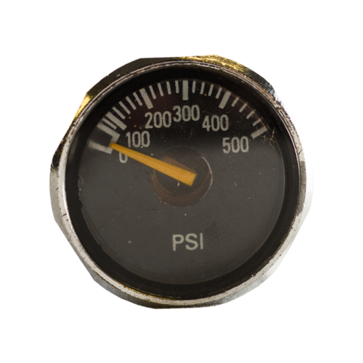 Tomahawk pressure gauge.